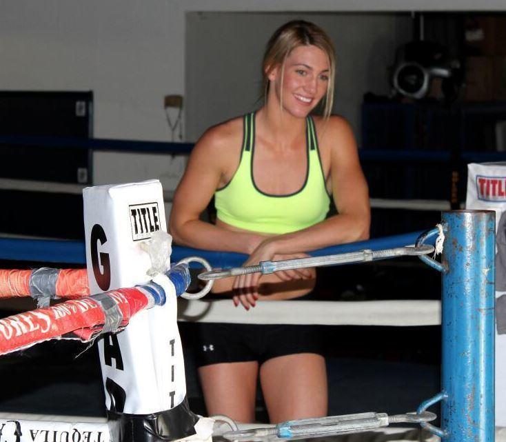 Mikaela Mayer mikaela mayer boxing ring ProBoxingFanscom