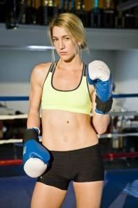 Mikaela Mayer How Boxer Mikaela Mayer Knocks Out Cravings And Her Sexy