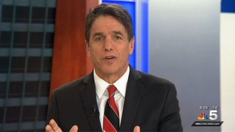 Mike Adamle Mike Adamle on personal leave from NBC 5