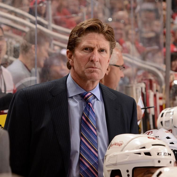 Mike Babcock Detroit Red Wings Coach Mike Babcock Has Something to
