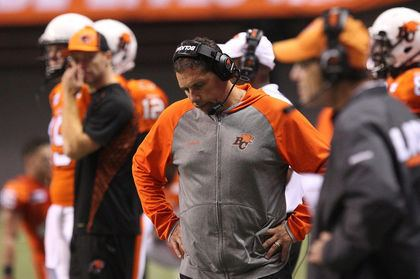 Mike Benevides Lions fire head coach Mike Benevides CFL Football