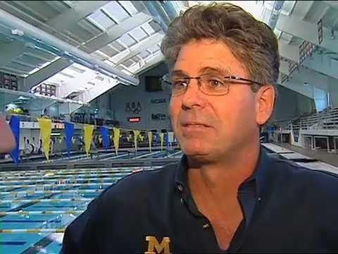 Mike Bottom Michigan Head Swimming Coach Mike Bottom YouTube