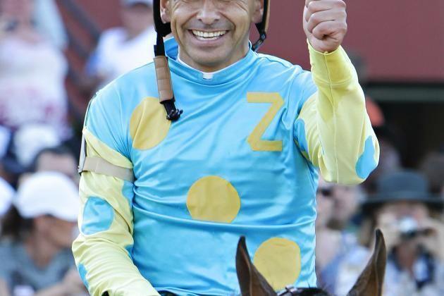 Mike E. Smith Kentucky Derby 2012 Top 10 Jockeys in Racing Bleacher