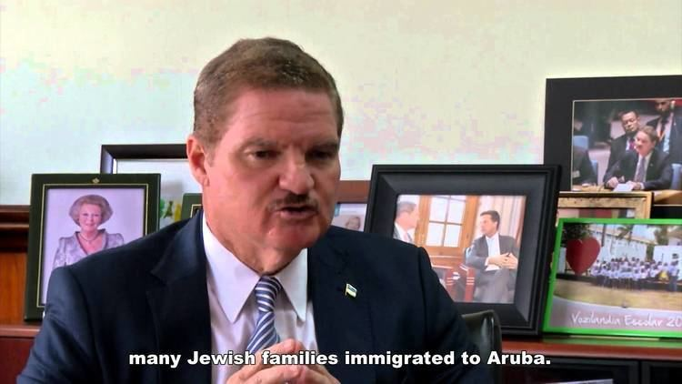Mike Eman Prime Minister Mike Eman Aruba about Jewish heritage YouTube