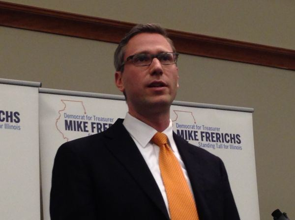 Mike Frerichs Election 2014 Democratic Treasurer Candidate Mike
