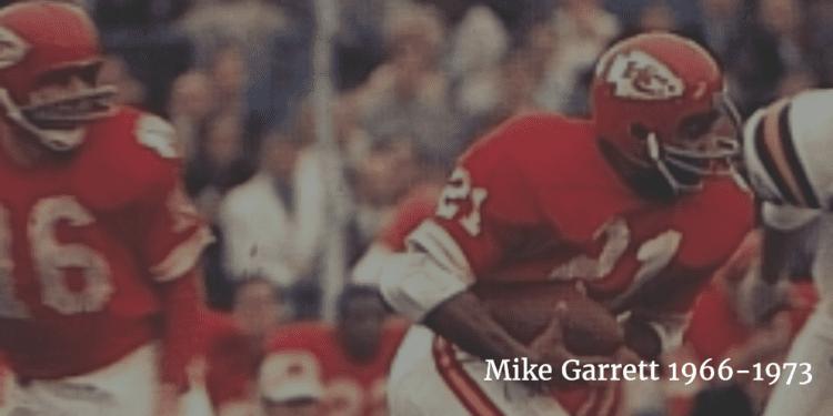 Mike Garrett Image Gallery of AFL Star Running Back Mike Garrett