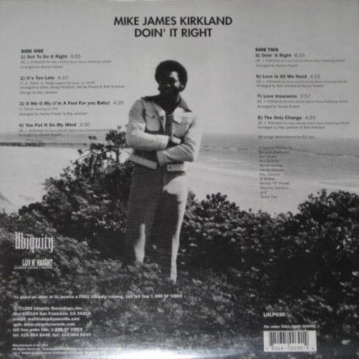 Mike James Kirkland Mike James Kirkland Doin39 It Right