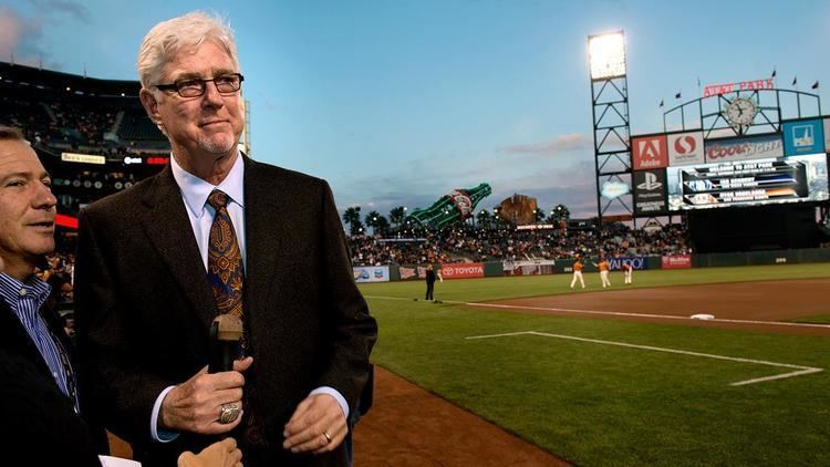 Mike Krukow The Giant friendship between San Francisco Giants announcers Mike
