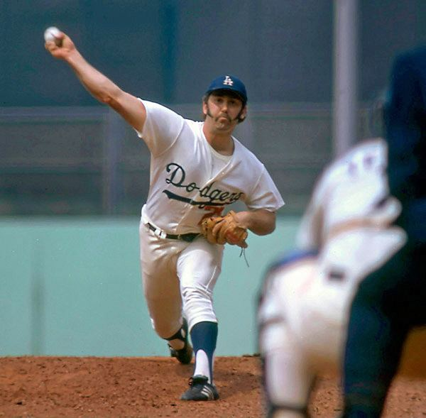 Mike Marshall (pitcher) while playing baseball