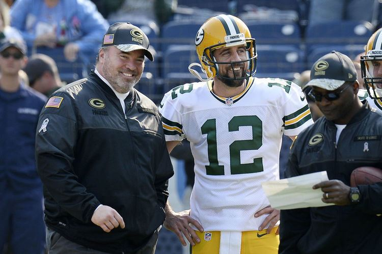Mike McCarthy (American football) Packers No Hollywood hangouts but Aaron Rodgers and Mike McCarthy
