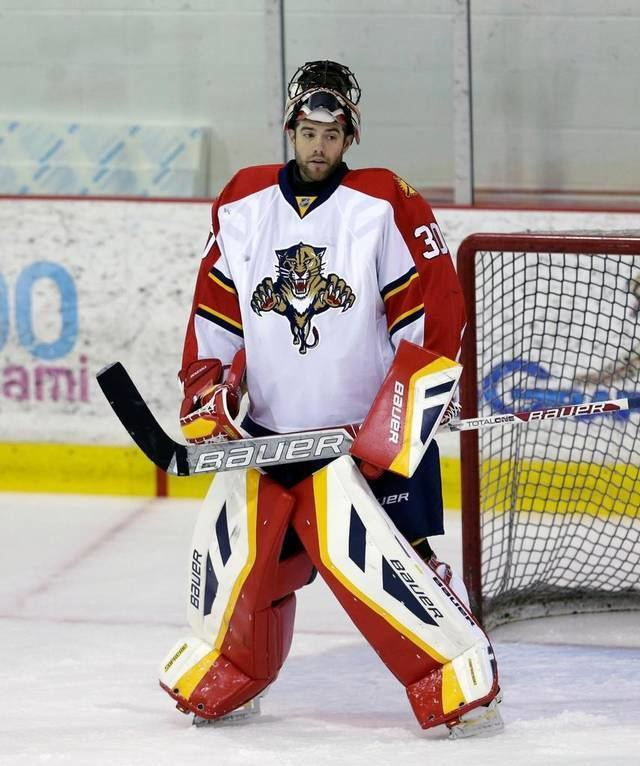 Mike McKenna (ice hockey) Mike McKenna adds experience as Florida Panthers39 backup