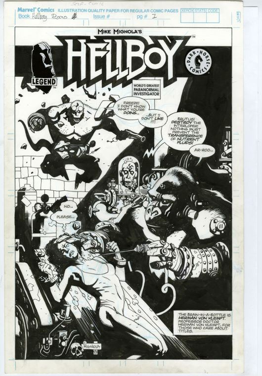 Mike Mignola 20 Years in Hell Writerartist Mike Mignola celebrates milestone of