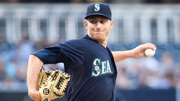 Mike Montgomery (baseball) Seattle Mariners39 Mike Montgomery 1hits San Diego Padres