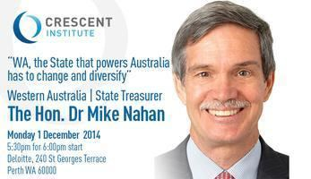 Mike Nahan Crescent Institute Perth The Hon Dr Mike Nahan 1