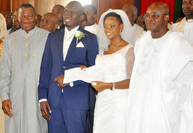 Mike Oghiadomhe Wedding Ceremony Of The Son Of Chief Of Staff To The President