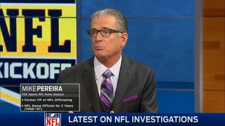 Mike Pereira Mike Pereira says if Roger Goodell lied he is gone YouTube