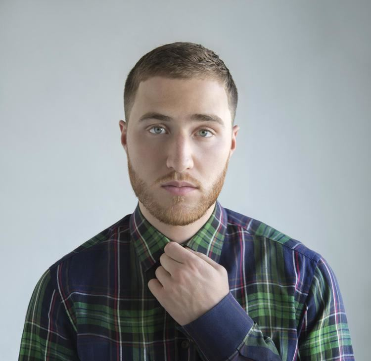 Mike Posner Typographic Portrait of Mike Posner MikePosnerHitscom