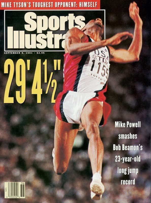 Mike Powell (long jumper) Mike Powell39s Quest on Ice Rain Wind Injury Spoil