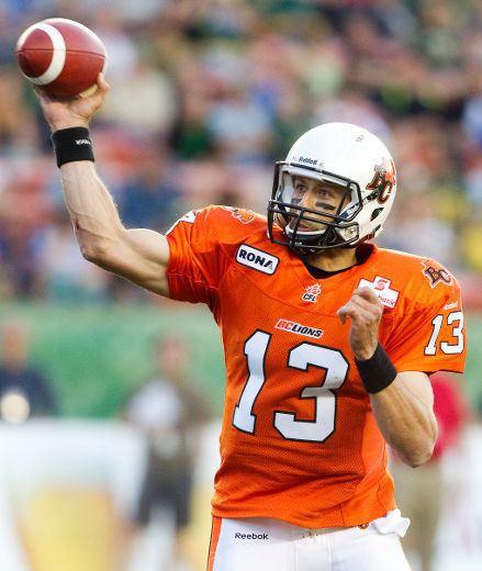 Mike Reilly (quarterback) Edmonton Eskimos sign BC Lions quarterback Mike Reilly Eskimos