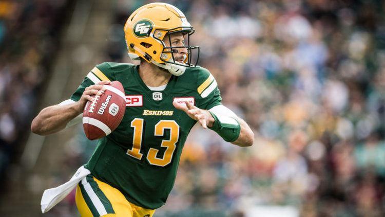 Mike Reilly (quarterback) mike reilly Edmonton Eskimos