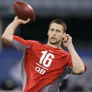 Mike Reilly (quarterback) Rams Sign QB Mike Reilly Rams Gab
