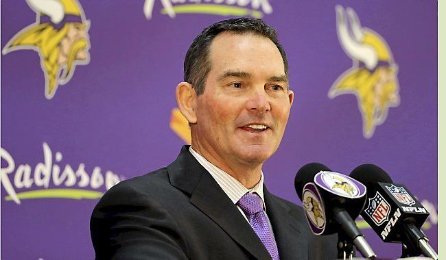 Mike Zimmer Vikings Mike Zimmer got the write stuff from Bill