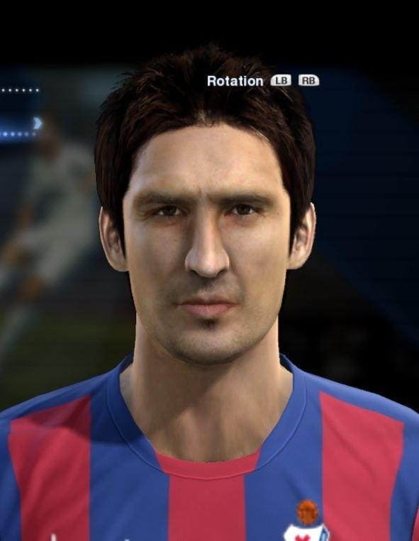 Mikel Arruabarrena Arruabarrena Mikel Eibar face for Pro Evolution Soccer