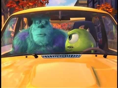 Mike's New Car MONSTERS INC MIKES NEW CAR YouTube