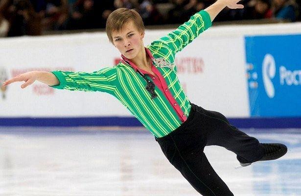 Mikhail Kolyada Russias Mikhail Kolyada breaks through Golden Skate