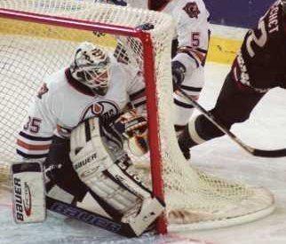 Mikhail Shtalenkov Edmonton Oilers goaltending history Mikhail Shtalenkov