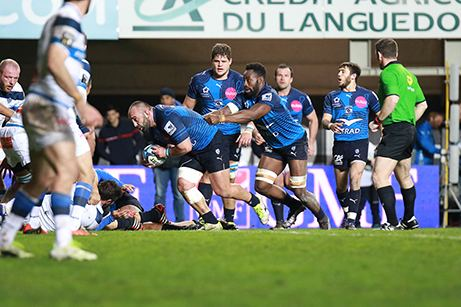 Mikheil Nariashvili Agendage Georgian rugby star in French league picked in team of