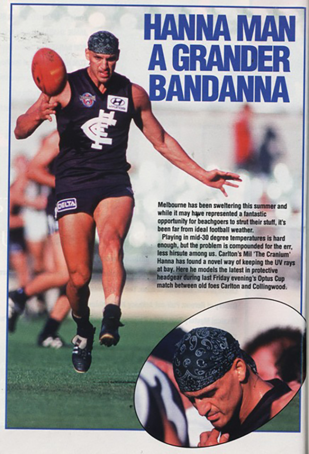 Mil Hanna Discussion Strange or Interesting AFL Photos Page 2 BigFooty