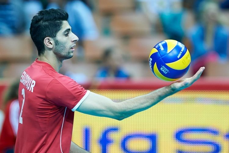 Milad Ebadipour Match FranceIran FIVB Volleyball Men39s World