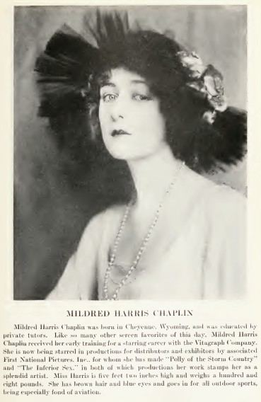 Mildred Harris Mildred Harris Wikipedia the free encyclopedia
