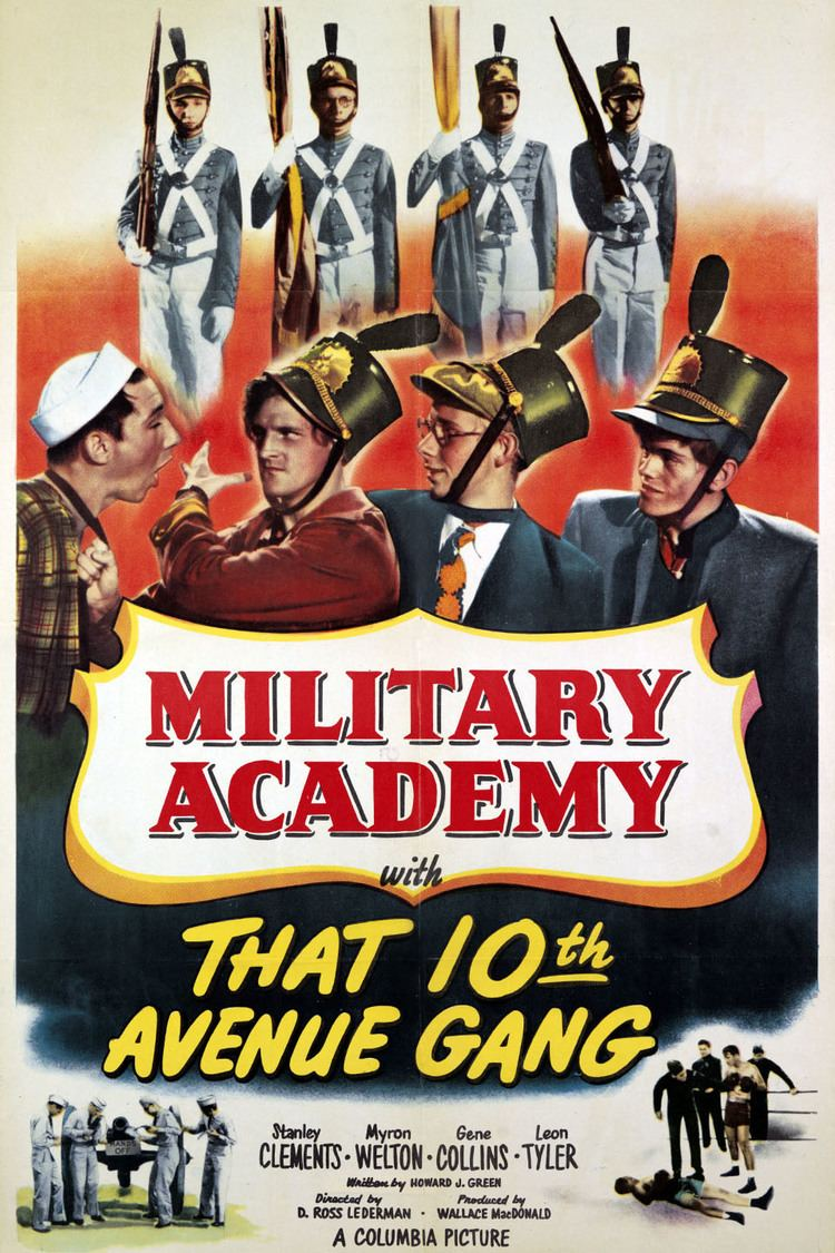 Military Academy with That Tenth Avenue Gang wwwgstaticcomtvthumbmovieposters8774401p877