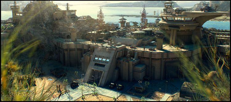 Military base Digimatte Military Base Terrain Ref Pinterest Military The o
