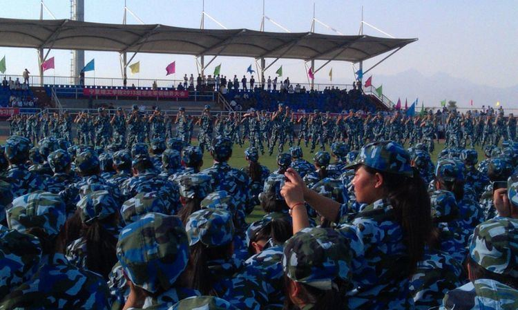 Military education and training in China