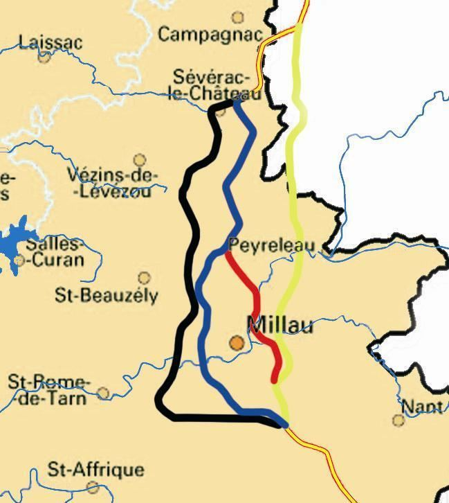 Millau in the past, History of Millau