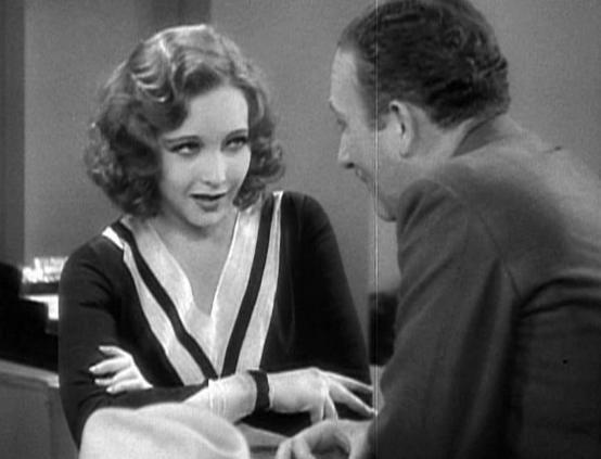 Millie (film) movie scenes Above Helen Twelvetrees with John Halliday in Millie