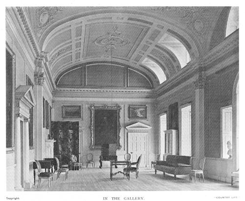 Milton Hall Milton Hall Cambridgeshire Patrick Baty Historical paint consultant