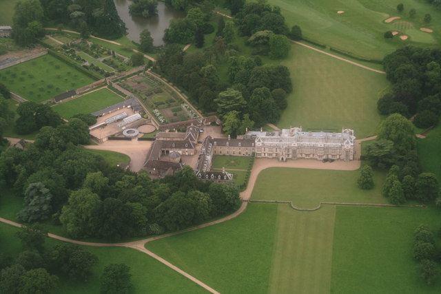 Milton Hall Milton Hall aerial 2014 Chris Geograph Britain and Ireland