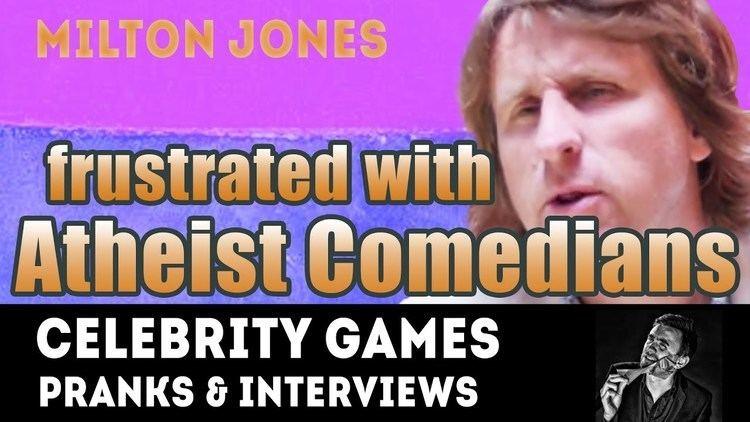 Milton Jones Milton Jones Born again Christian Frustration with Atheist