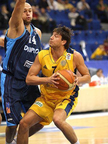 Milutin Aleksić Milutin Aleksic EuroCup All Star Game 2008 FIBA Europe