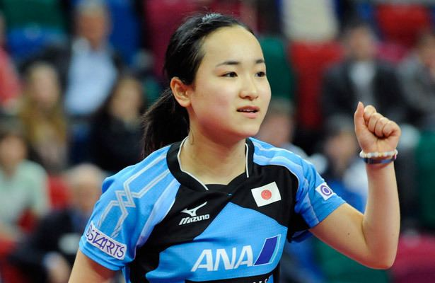 Mima Ito Table Tennis Mima Ito 14 becomes Tour39s youngest