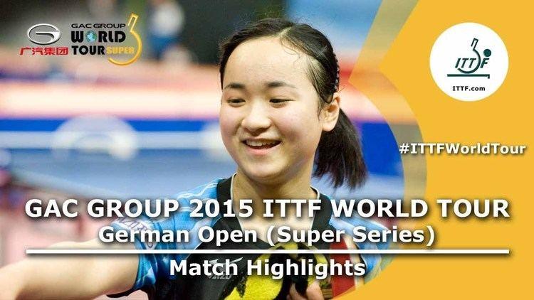 Mima Ito German Open 2015 Highlights ITO Mima vs CHE Xiaoxi 14