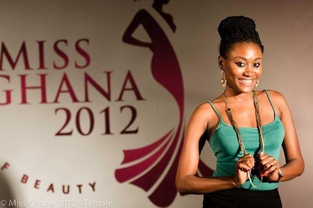 Mimi Areme Former Miss Ghana Beauty QueensShaida Buari 2002 amp Mimi