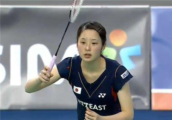 Minatsu Mitani 2013 Victor Korea Open Minatsu Mitani BadmintonLinkcom