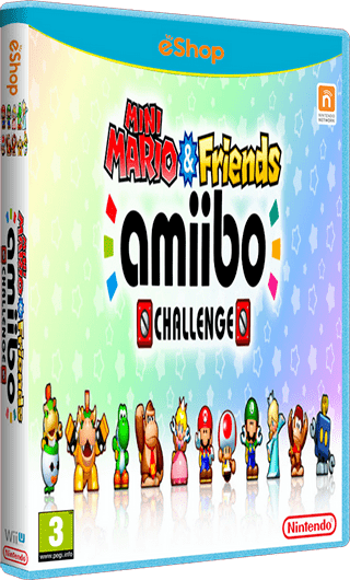 Mini Mario & Friends: Amiibo Challenge MEGA Mini Mario amp Friends amiibo Challenge eur eShop