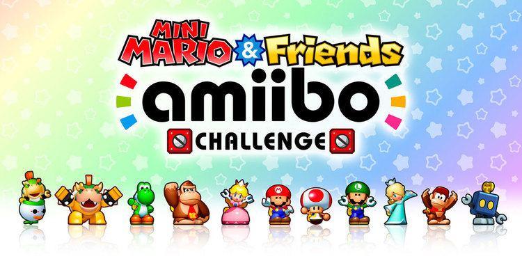 Mini Mario & Friends: Amiibo Challenge Mini Mario amp Friends amiibo Challenge Nintendo 3DS download