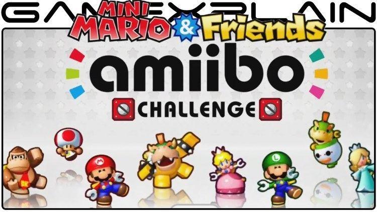 Mini Mario & Friends: Amiibo Challenge Mini Mario amp Friends amiibo Challenge Game amp Watch Video Preview